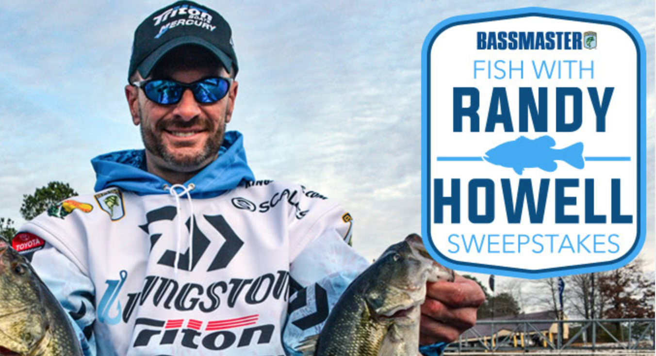 Bassmaster's Fish With Randy Howell Sweepstakes