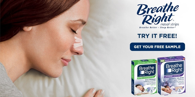 Get Free Breathe Right Nasal Strips