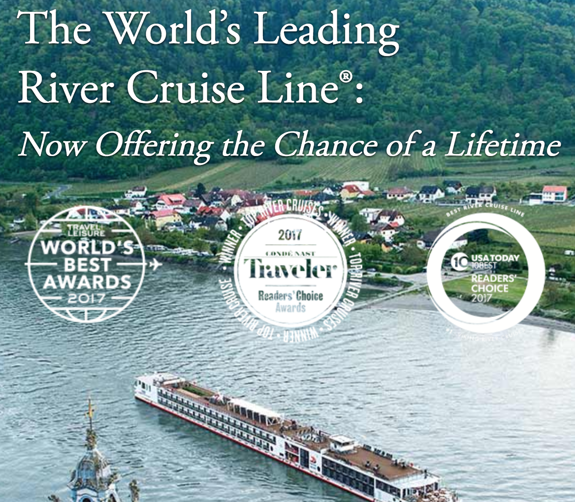 Viking Cruises Grand European Tour Sweepstakes