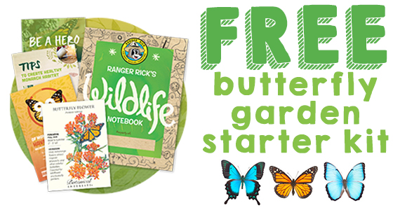 Enter Free Butterfly Garden Starter Kit with Photo Submission