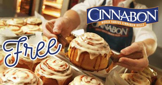 Enter Register with Cinnabon & Get a Free Minibon Cinnamon Roll