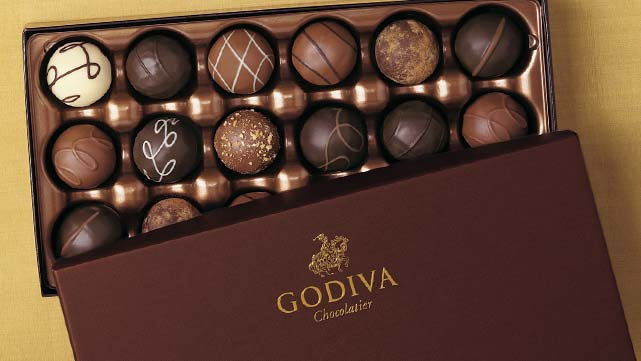 Enter Godiva Rewards Club