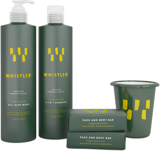 Travel-Size Wash Kit from Whistler